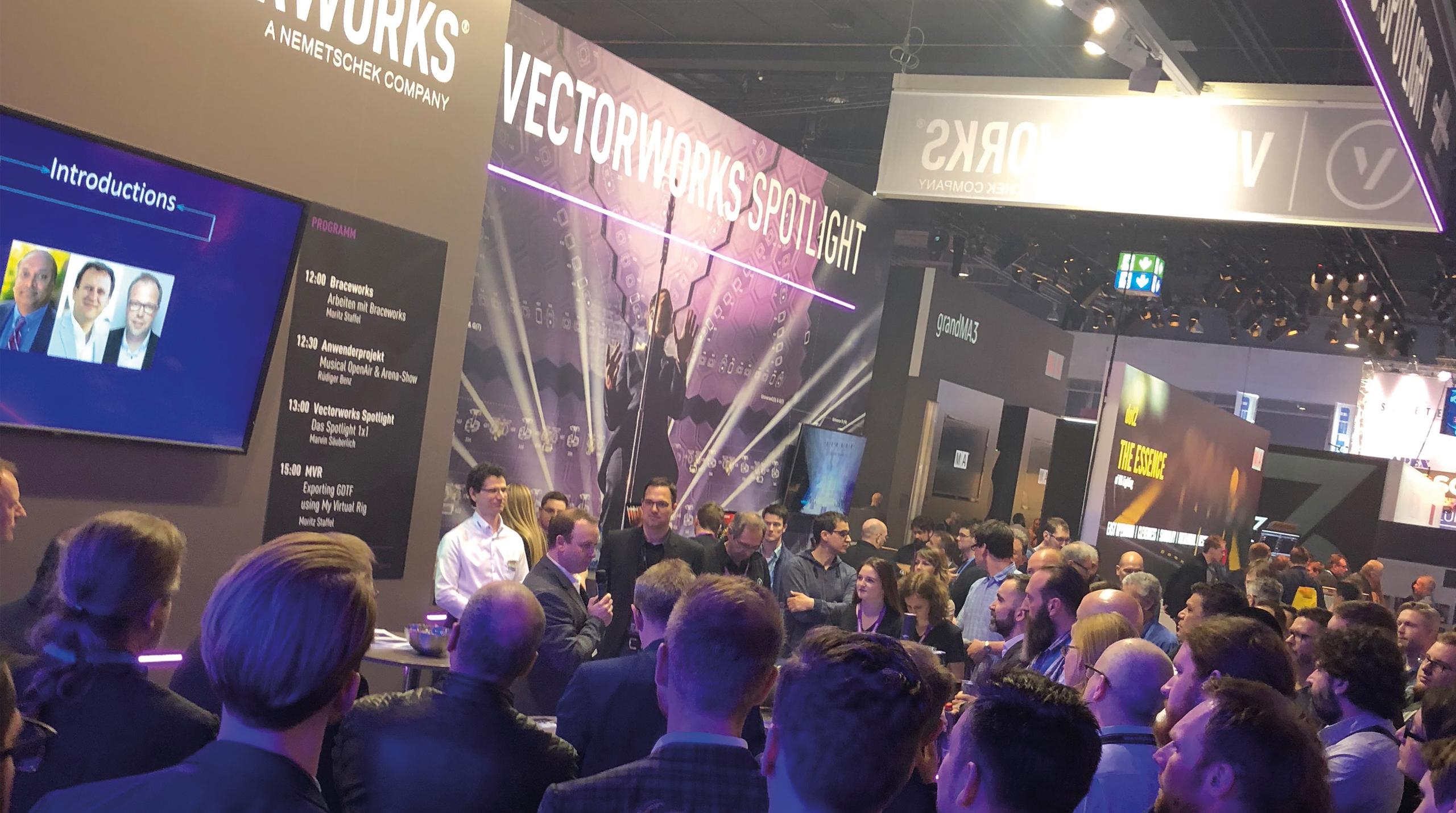 Spannende neuigkeiten rund um vectorworks spotlight
