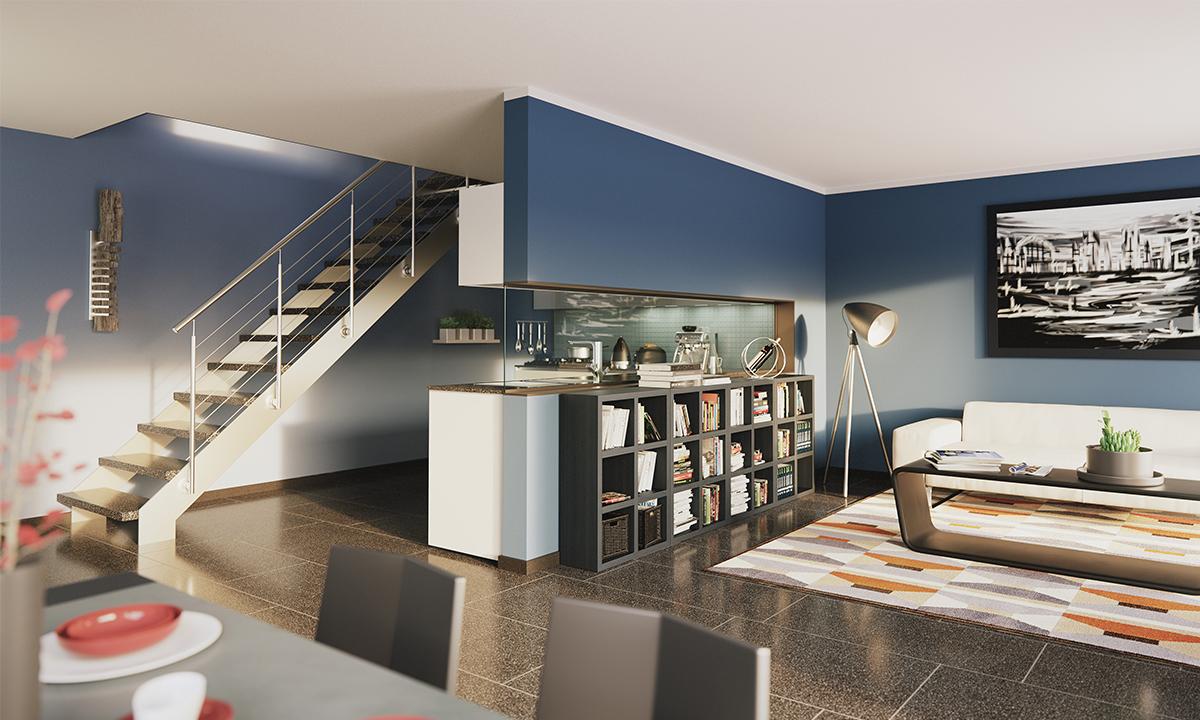 Wohnträume visualisieren mit Cinema 21D